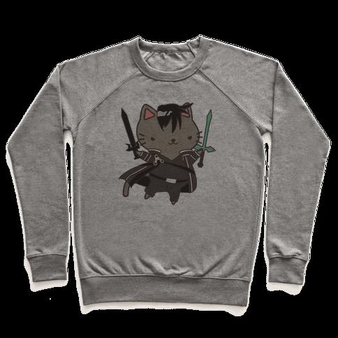Cat Cosplay Kirito Pullover