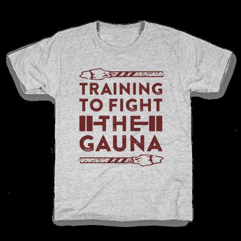 Training to Fight the Gauna Kids T-Shirt