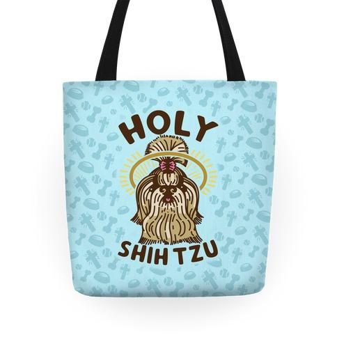 Holy Shih Tzu Tote