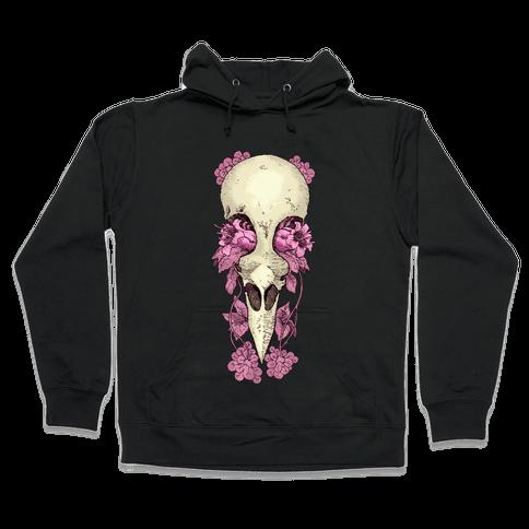 Bird Skull Hooded Sweatshirt