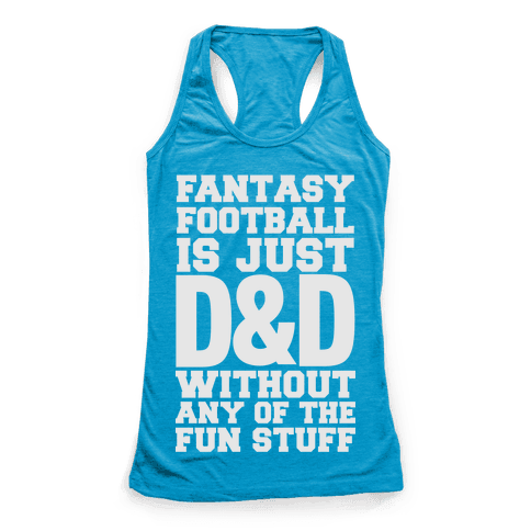 Fantasy Football Racerback Tank Top