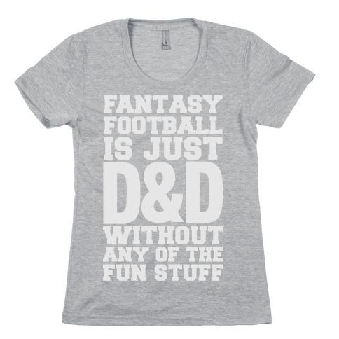 Fantasy Football Womens T-Shirt