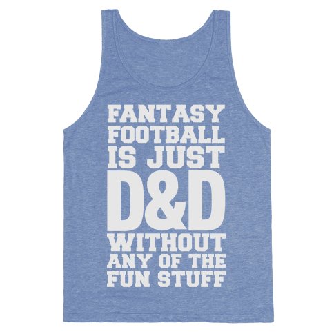 Fantasy Football Tank Top