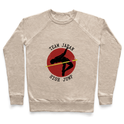 Japanese High-Jump Pullover