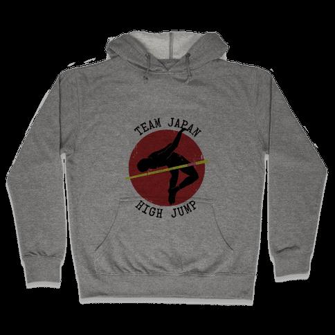 Japanese High-Jump Hooded Sweatshirt