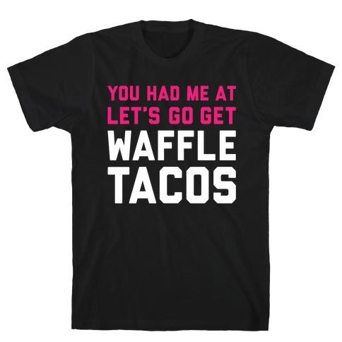 Waffle Tacos Mens T-Shirt