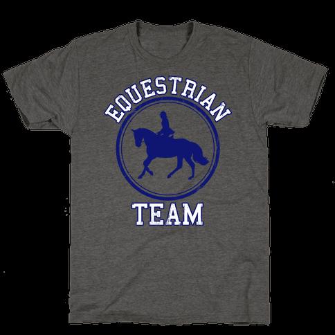 Equestrian Team (Blue)