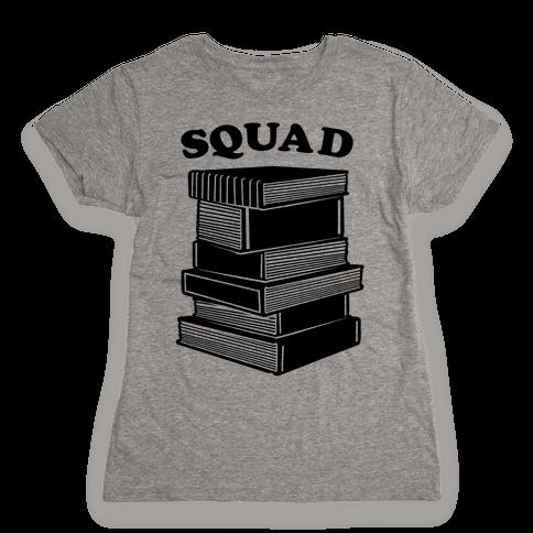 Book Squad Womens T-Shirt