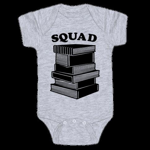 Book Squad Baby Onesy