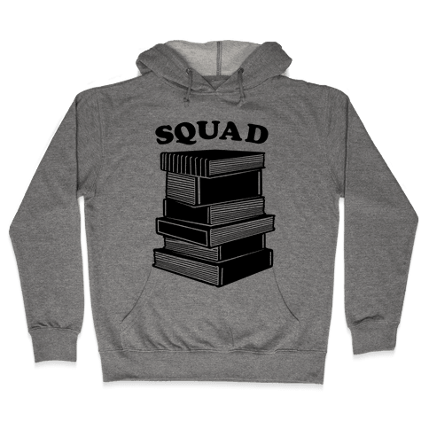 Book Squad Hooded Sweatshirt