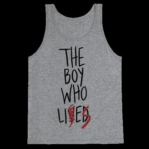 The Boy Who Lies Tank Top