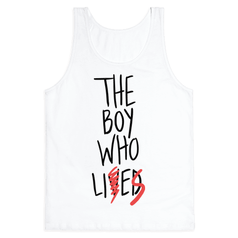 The Boy Who Lies Tank Top