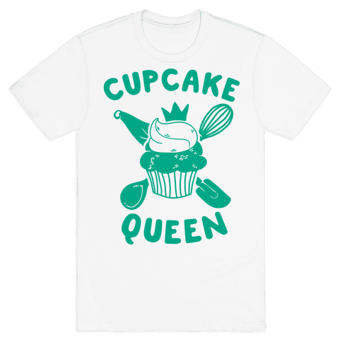 Cupcake Queen Mens T-Shirt