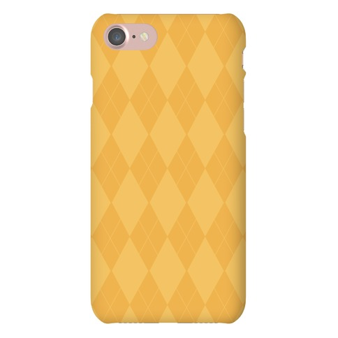 Gold Argyle Phone Case