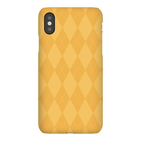 Gold Argyle Phone Case