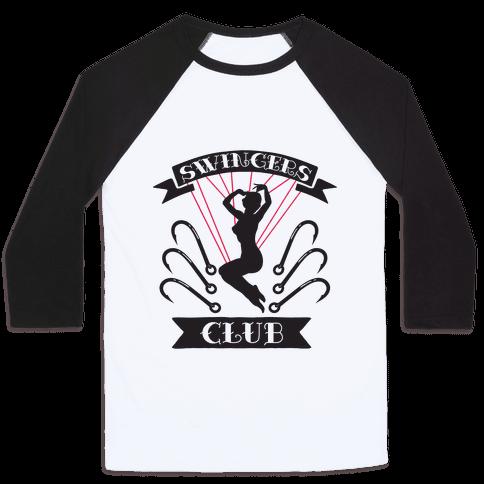 Swingers Club Baseball Tee