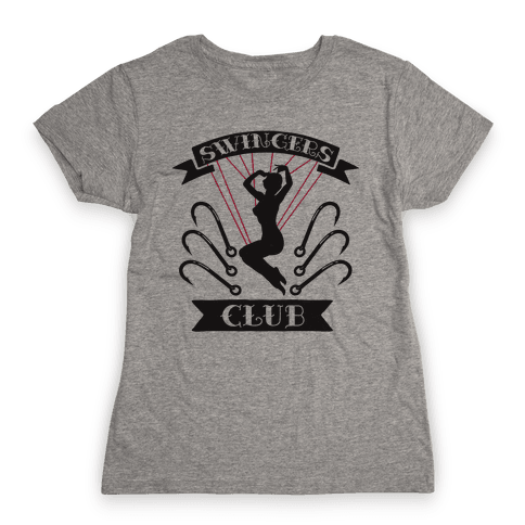 Swingers Club Womens T-Shirt