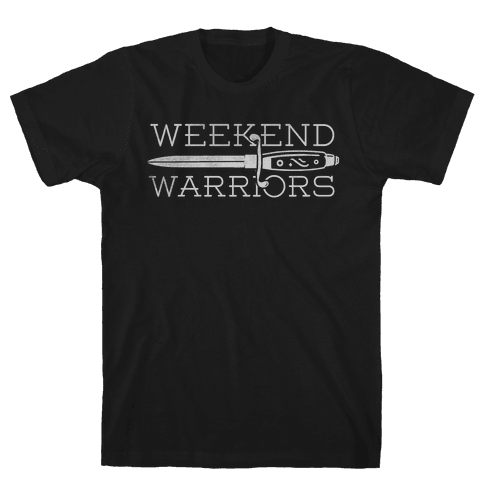 Weekend Warriors Mens T-Shirt