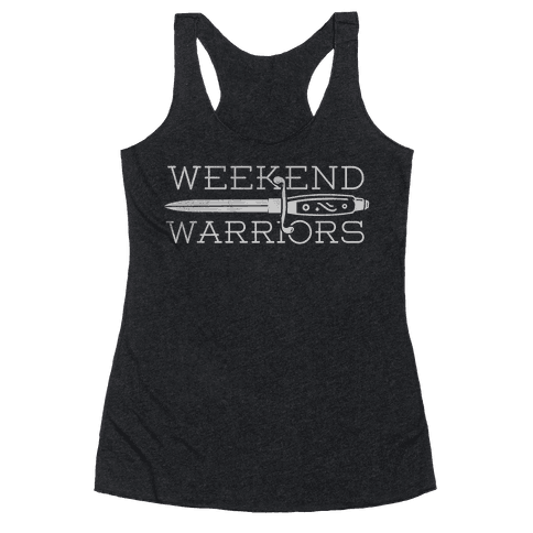 Weekend Warriors Racerback Tank Top