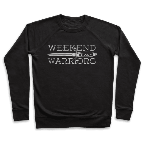 Weekend Warriors Pullover