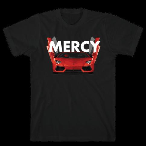 Lamborghini Mercy Mens T-Shirt