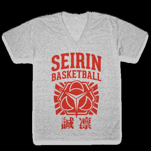Seirin Basketball Club V-Neck Tee Shirt
