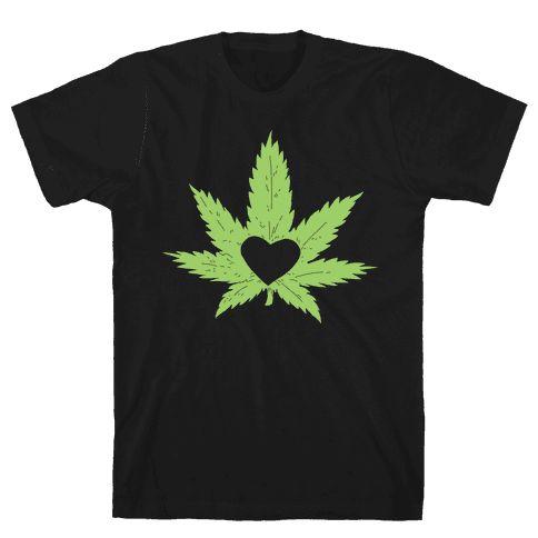 Pot Love Mens T-Shirt