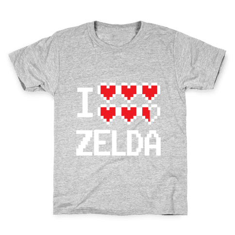 I Heart Zelda Kids T-Shirt