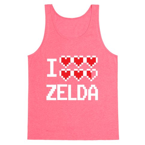 I Heart Zelda Tank Top