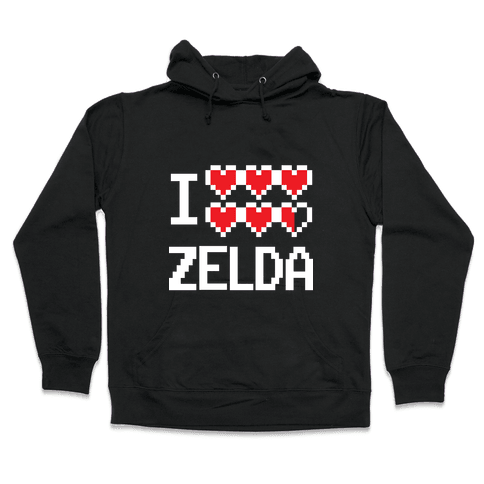 I Heart Zelda Hooded Sweatshirt