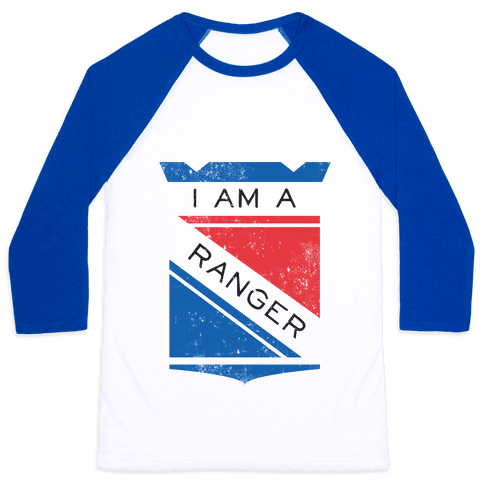 I Am A Ranger (Vintage) Baseball Tee