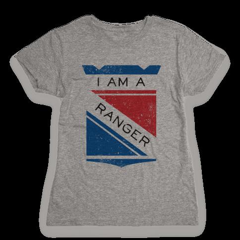 I Am A Ranger (Vintage) Womens T-Shirt
