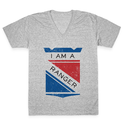 I Am A Ranger (Vintage) V-Neck Tee Shirt