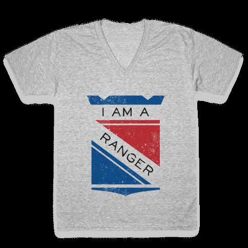 I Am A Ranger (Vintage) V-Neck Tee Shirt