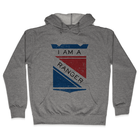 I Am A Ranger (Vintage) Hooded Sweatshirt