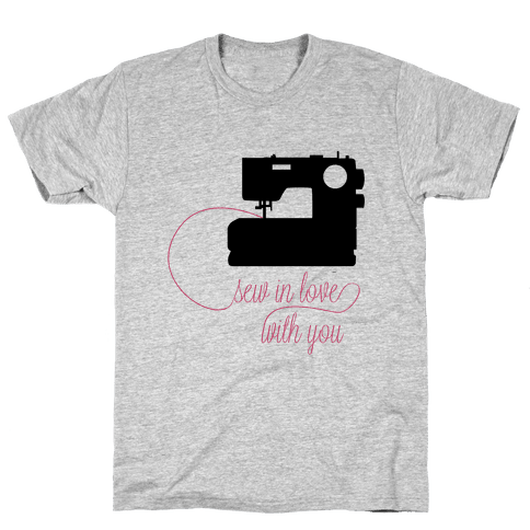 Sew In Love Mens T-Shirt