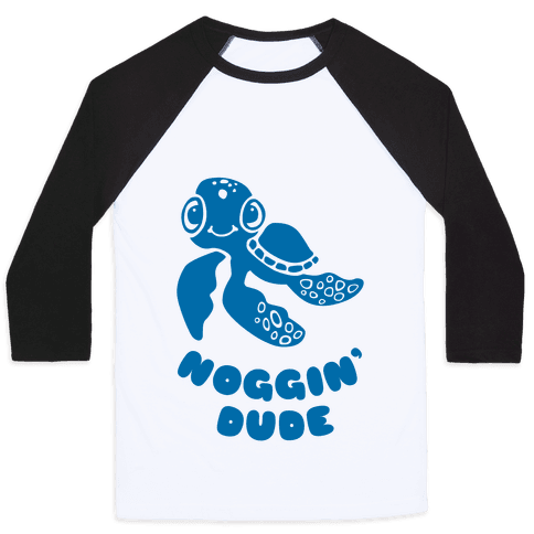 Noggin' Dude Baseball Tee