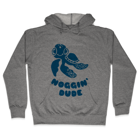 Noggin' Dude Hooded Sweatshirt