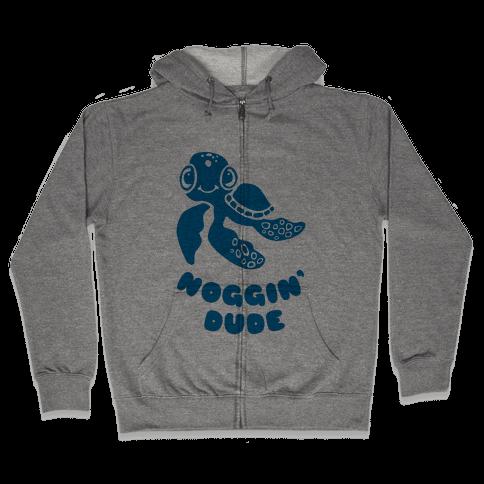 Noggin' Dude Zip Hoodie