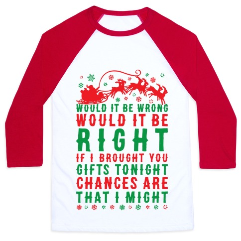 Papa Roach Christmas Baseball Tee