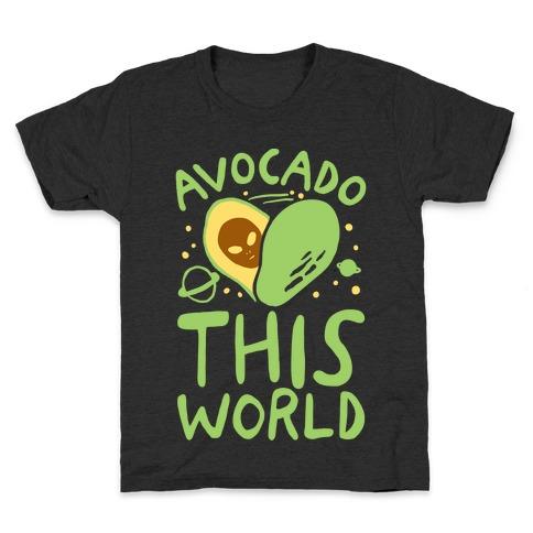 Avocado This World Kids T-Shirt