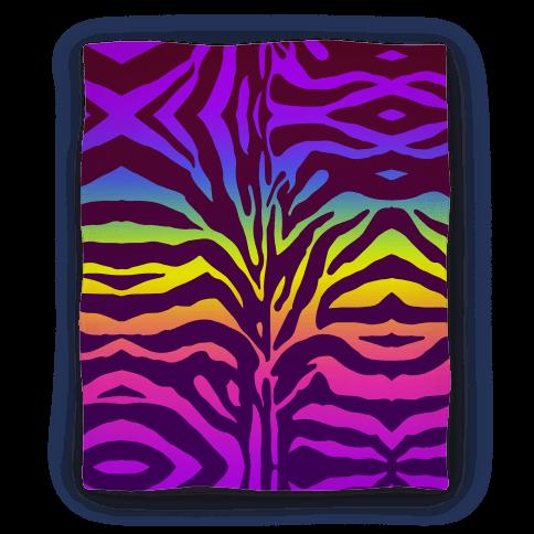 Rainbow Zebra Blanket Blanket
