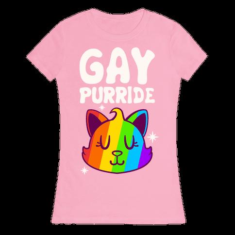 Gay Purride Womens T-Shirt