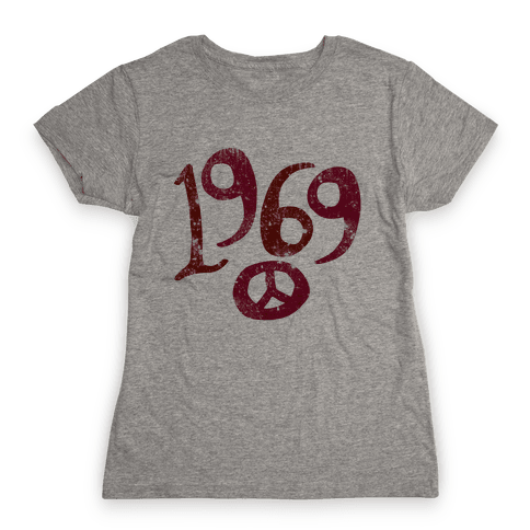 1969 Woodstock (Vintage) Womens T-Shirt