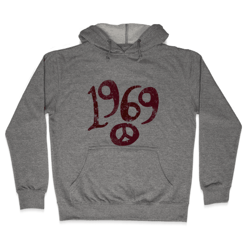 1969 Woodstock (Vintage) Hooded Sweatshirt