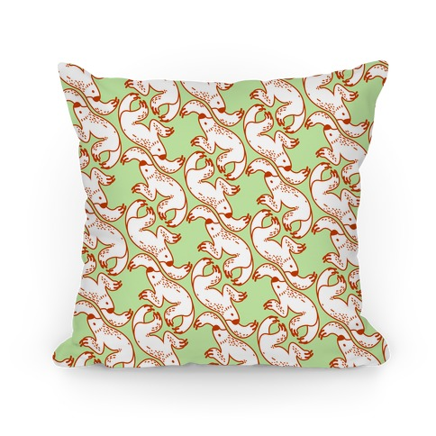 Two Toed Sloth Pattern Pillow