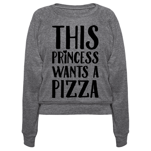 This Princess Wants A Pizza
