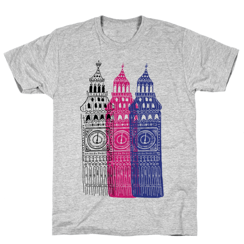 London's Big Bens Mens T-Shirt