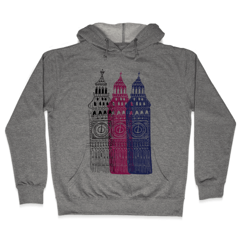 London's Big Bens Hooded Sweatshirt