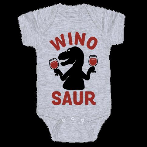 Winosaur Baby Onesy